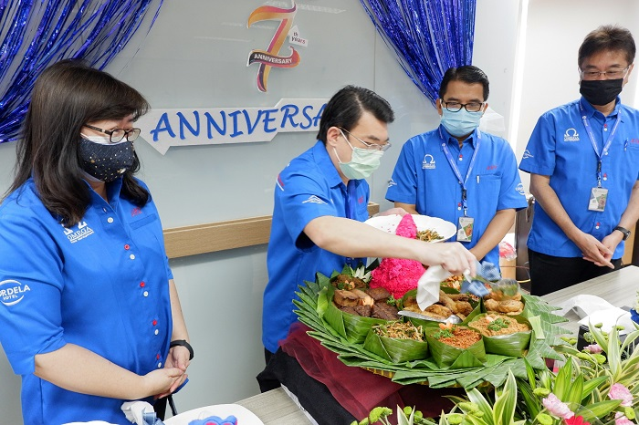 Begini cara Omega Hotel Management Rayakan anniversary ke-7 ditengah pandemi