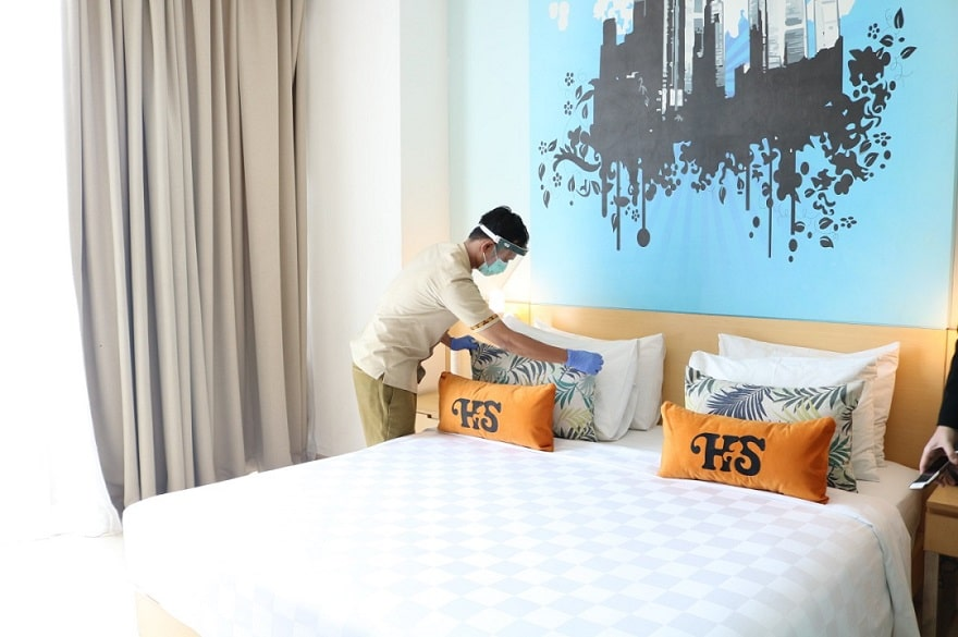 Weekend Staycation tak perlu khawatir di Hotel Santika BSD Teraskota
