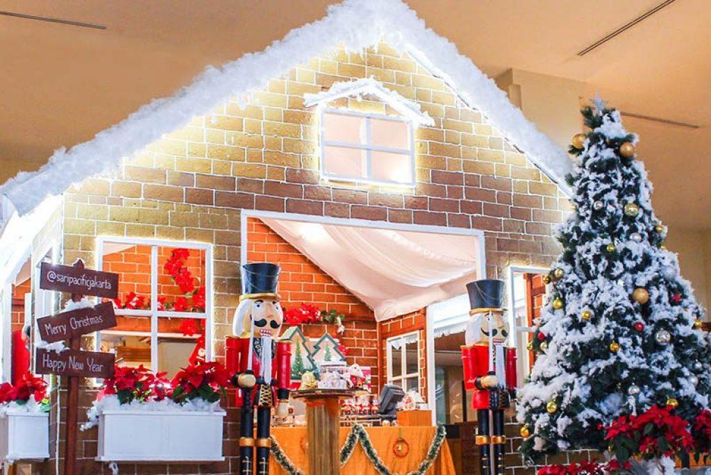 Ada Rumah Roti Jahe di Natal dan Tahun Baru di Hotel Sari Pacific Jakarta