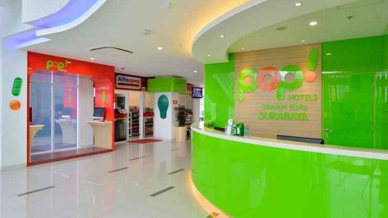 Pop Hotel Stasiun Kota Surabaya