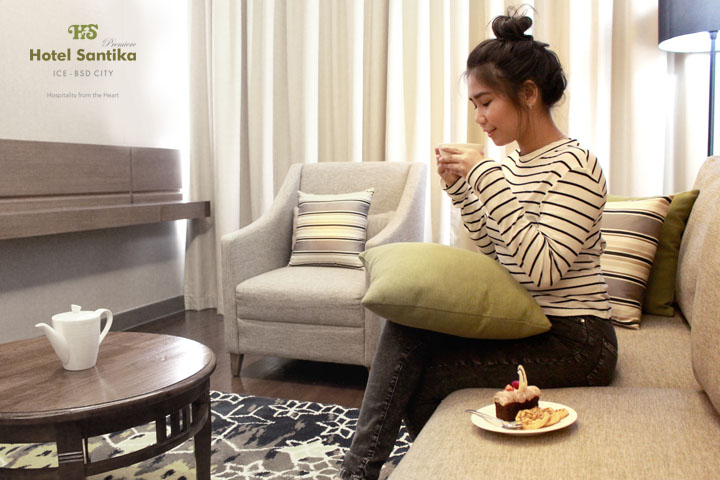 Lepas Penat dengan Promo Moshee Hotel Santika Premiere ICE-BSD City