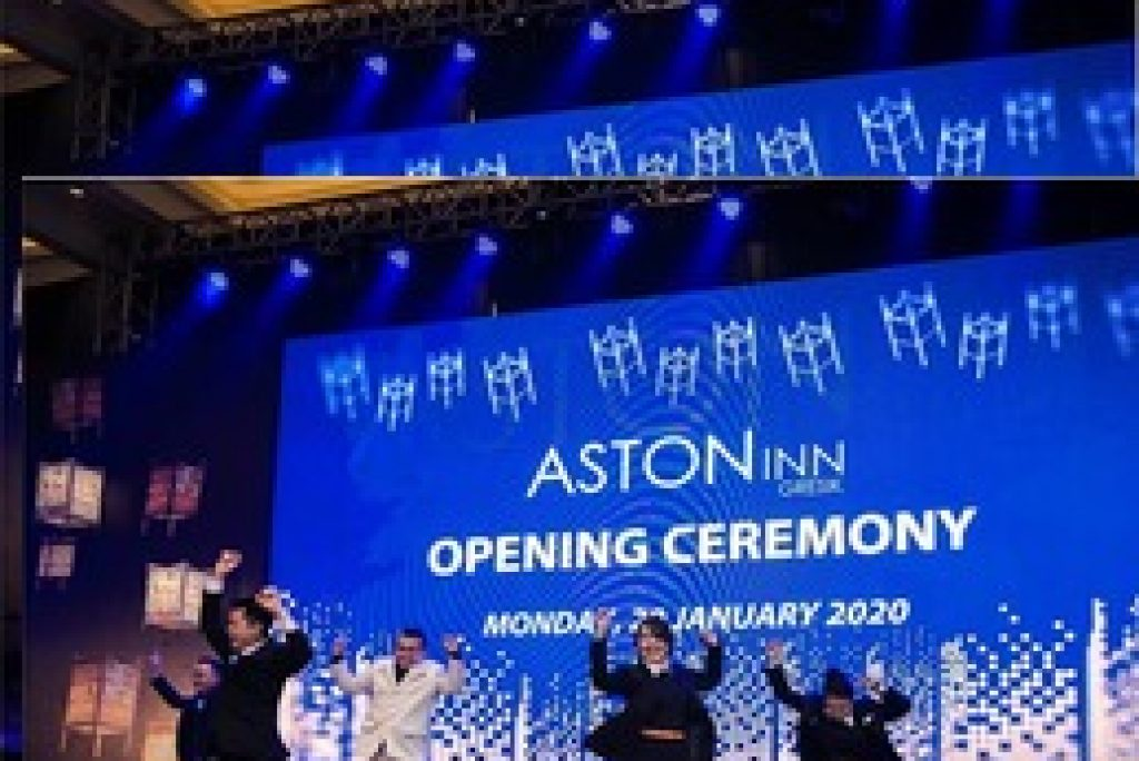 Hari Jadi Pertama, Aston Inn Gresik Rayakan dengan Berbagi