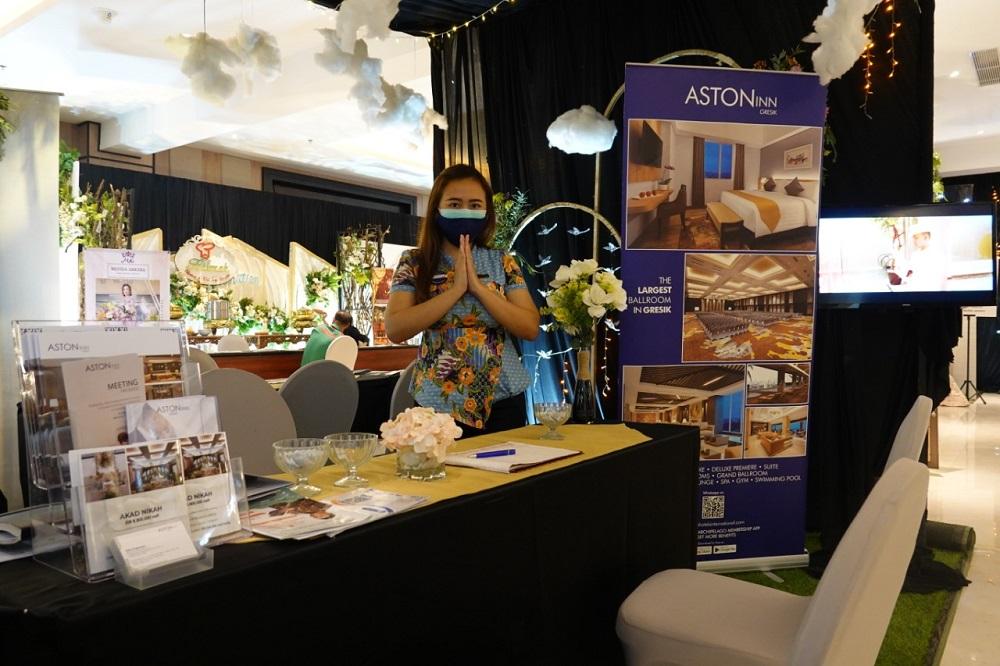 Angkat Kebudayaan Gresik, ASTON Inn Gresik Gelar Pameran Jasa Pernikahan
