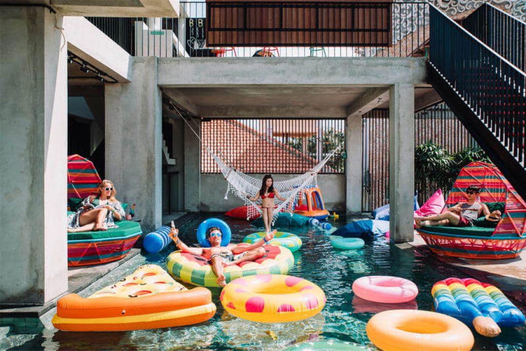 Hotel Kaum Millenial, Paling Instagramable di Bali