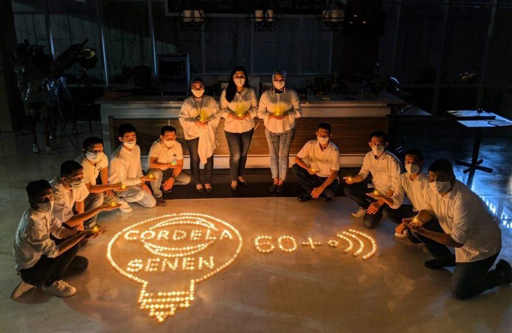 Kreativitas Cordela Hotels Dalam Peringati Earth Hour 2021