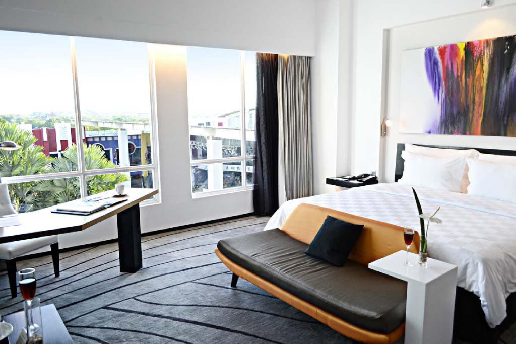 Kamar Tidur Premiun Hotel Bintang 4