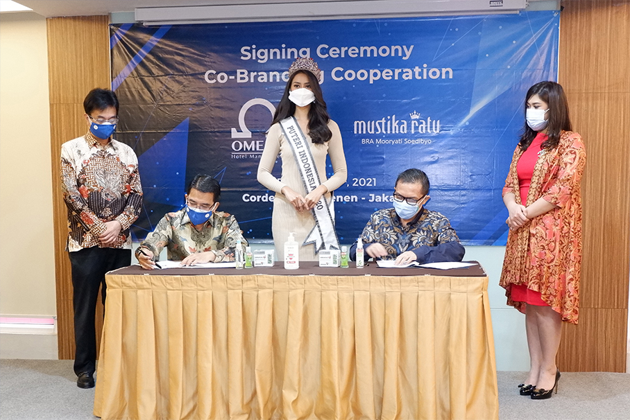 Omega Hotel Management Sediakan Produk Antisipasi Covid-19 bersama PT Mustika Ratu Tbk