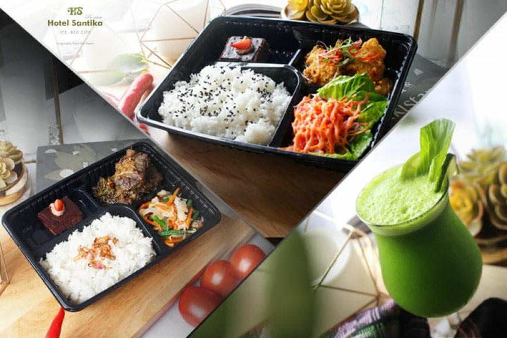 Hotel Santika Premiere ICE-BSD City, Tawarkan Kreasi Menu Makan Siang Terbaru