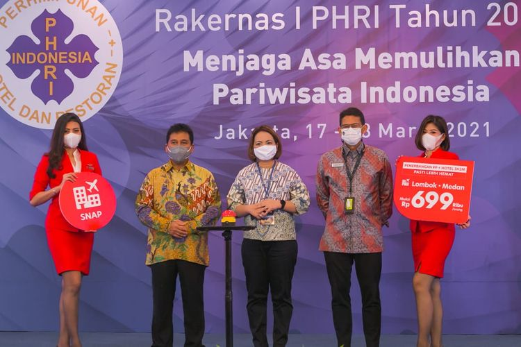 Rakernas PHRI 2021 bahas berbagai upaya Memulihkan Pariwisata Indonesia