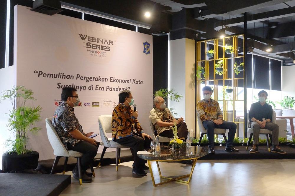 Seminar Inspiratif Bersama Sekretaris Daerah Surabaya di Royal Tulip Darmo