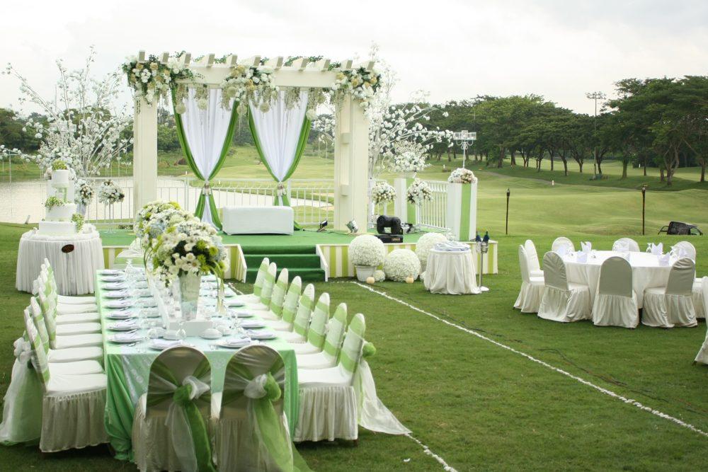 The wedding at Ciputra Golf