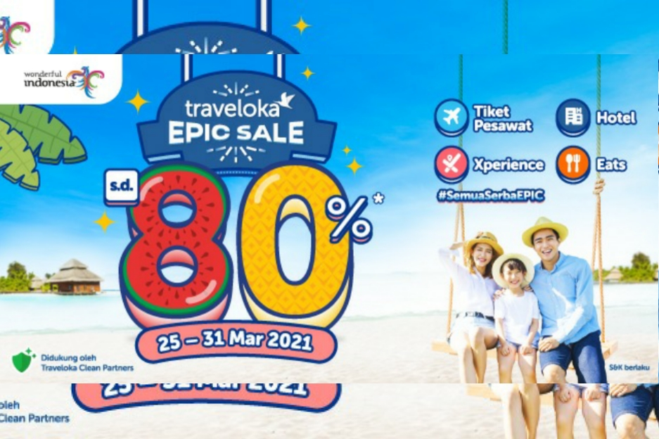 Traveloka Epic Sale Bangkitkan Wisata Domestik Lewat Promosi Hotel