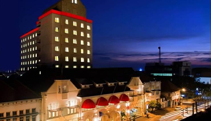 Sisi Depan Arcadia Hotel Surabaya by Horison