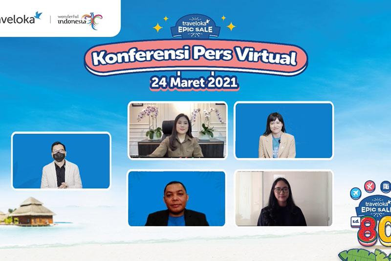Konferensi Pers Virtual