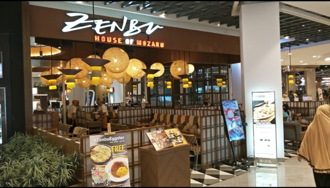 Zenbu House Of Mozaru Tunjungan Plaza