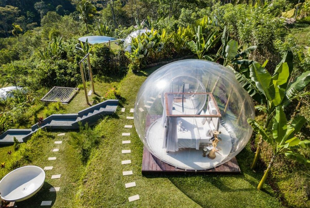 Nginap di Dalam Balon Raksasa, Cobain Yuk! Bubble Hotel Bali