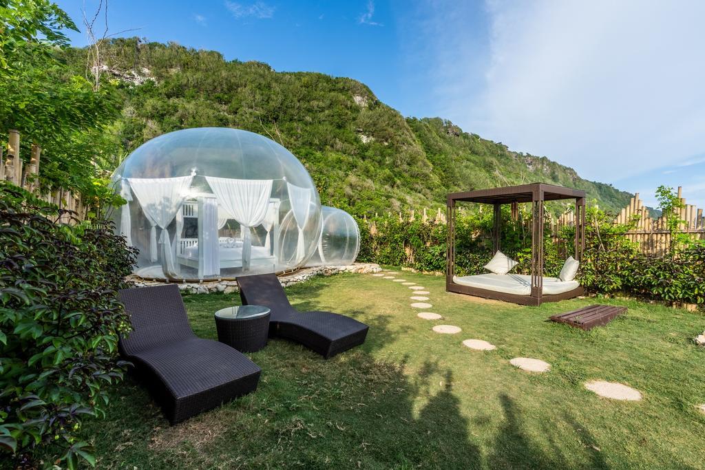 Bubble hotel nyang-nyang, Bali