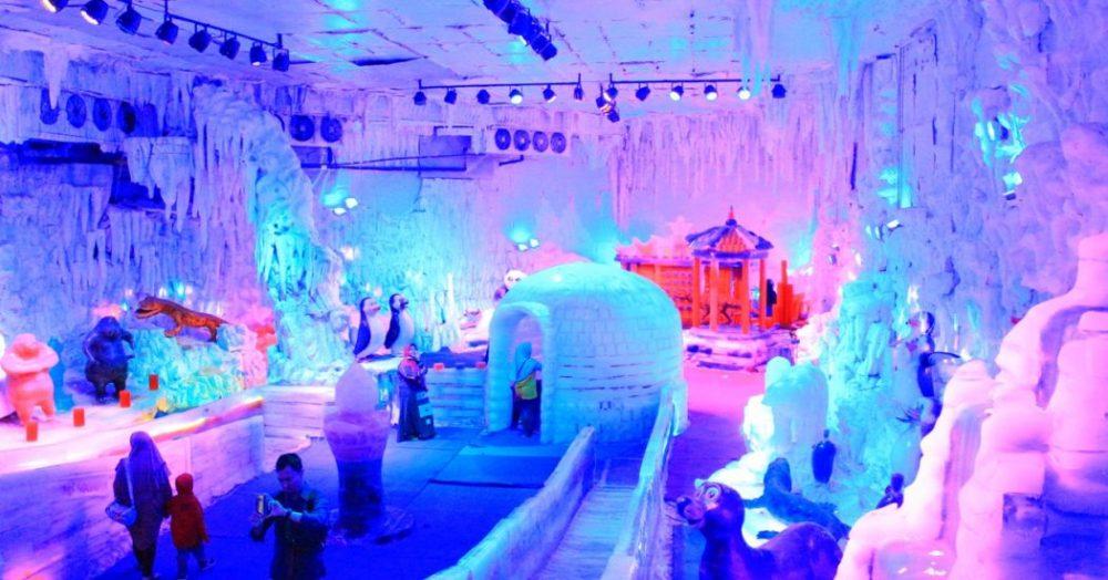Istana Es Atlantis Land