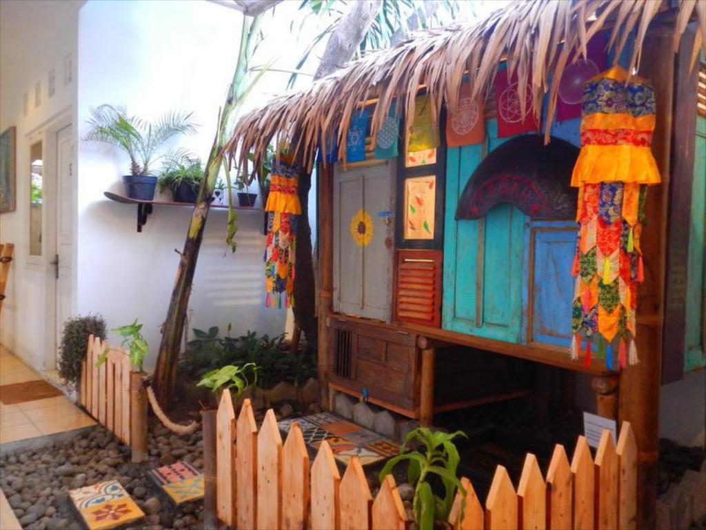 Kamar Tipe Bamboo Hut