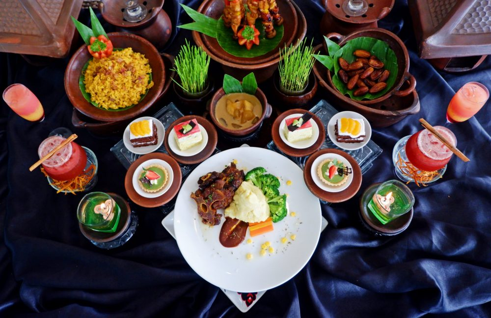 MENU SPECIAL GRILLED BARBEQUE OXTAILS LUXURY RAMADHAN THE ATRIUM HOTEL AND RESORT