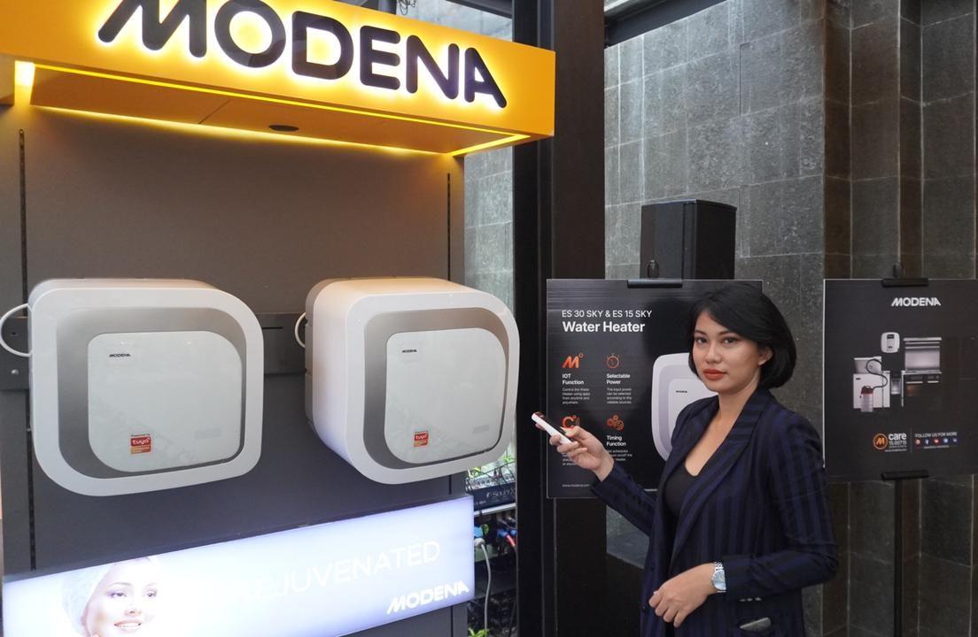 MODENA Indonesia Kembangkan Teknologi IOT Lewat Produk Water Heater Seri baru
