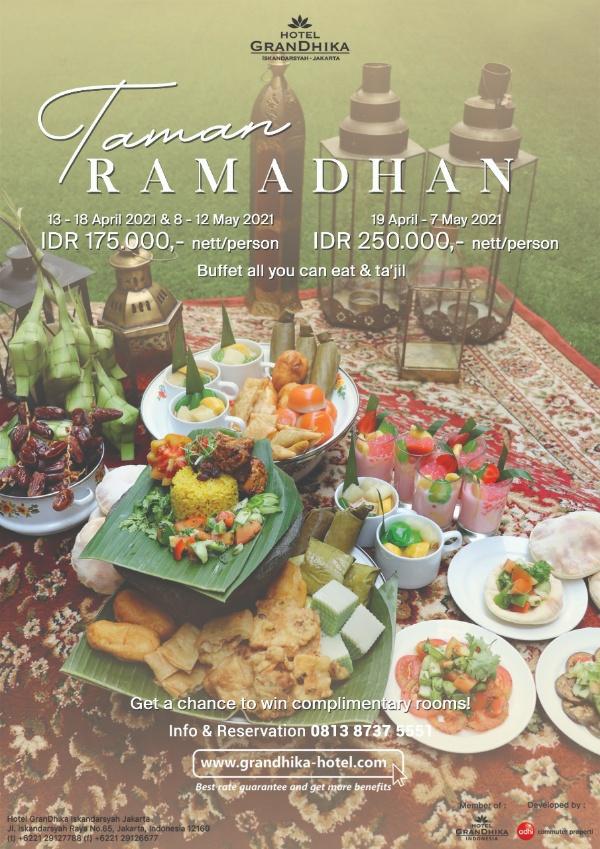 Promo Taman Ramadhan di Hotel Grandhika Iskandarsyah