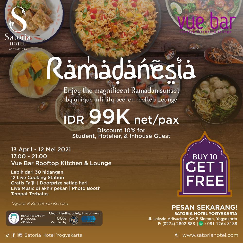 Satoria Hotel Yogyakarta_Paket Bukber