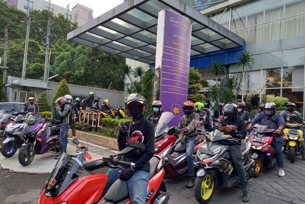Rayakan Ulang Tahun Ke-7, Quest Hotel Darmo Surabaya Adakan Sunmori Bersama Maxi Community