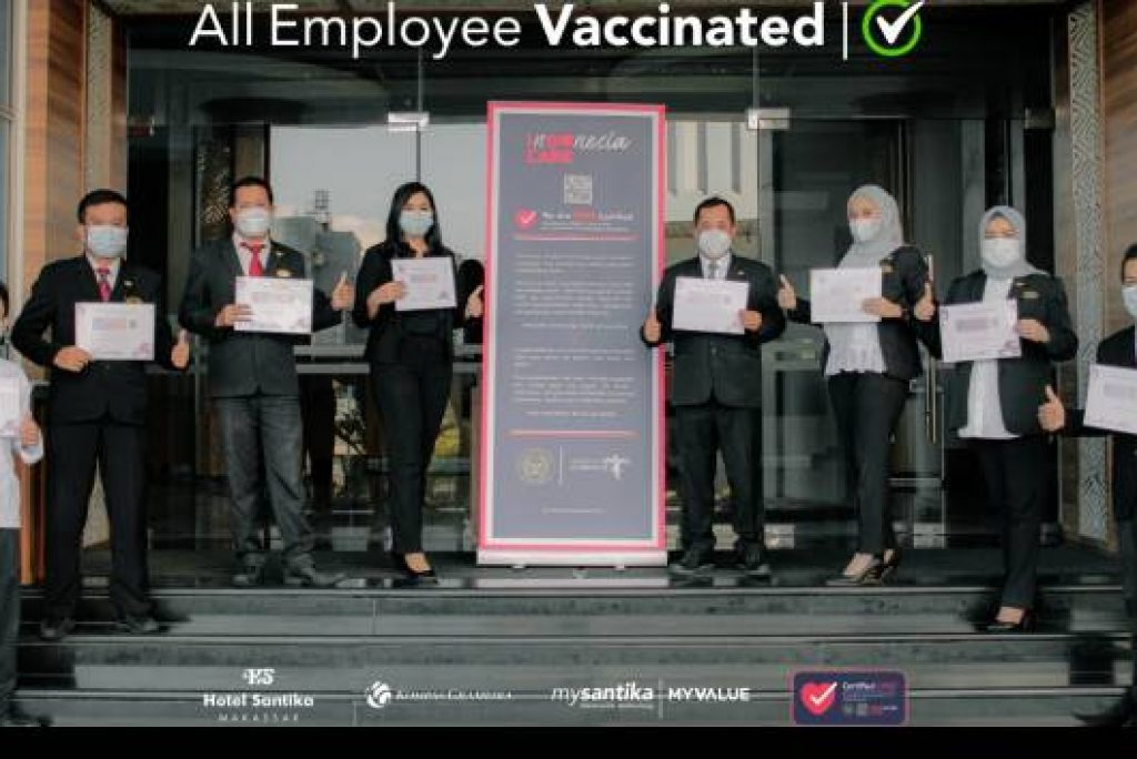Selamat! Santika Hotels & Resort Dapat Penghargaan khusus selama Pandemi