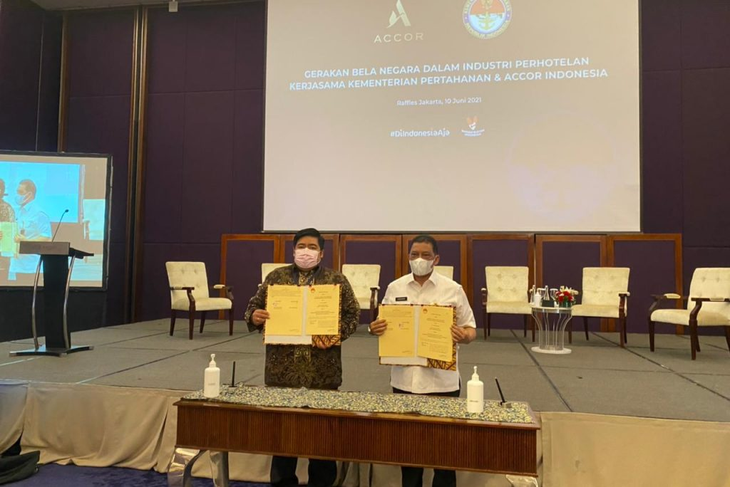 Grup Accor Bersama Kementerian Pertahanan RI dukung Gerakan Bela Negara