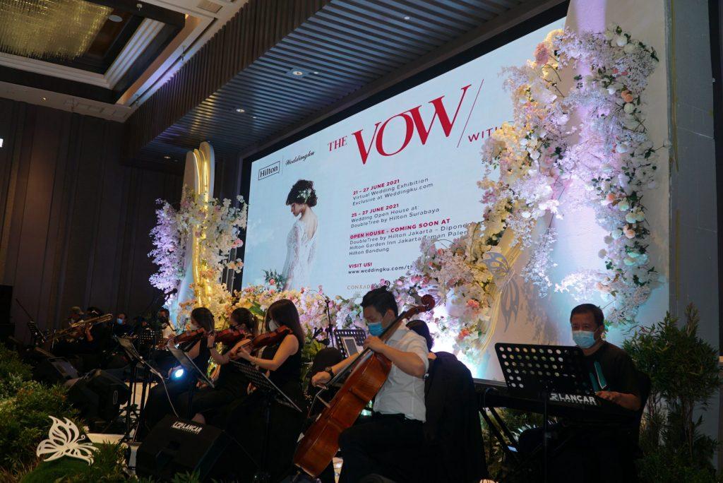 """The Vow with Hilton"": Pameran Pernikahan Virtual dan Open House oleh Hotel Hilton di Seluruh Indonesia"