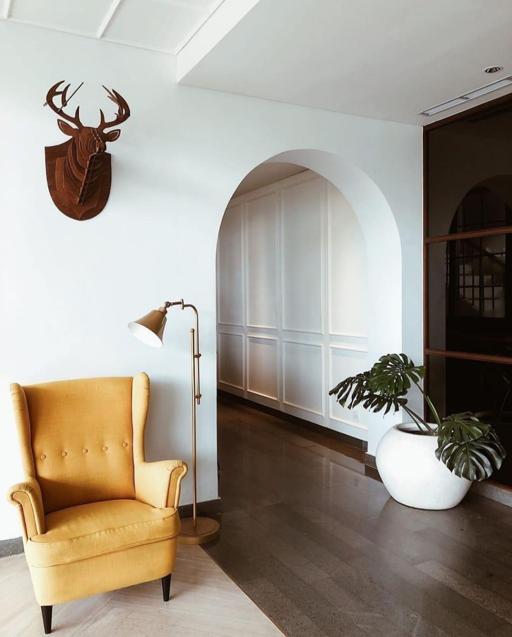 Berkonsep Vintage dan Minimalis, Intip Desain Interior Hotel Kampi Surabaya Yang Instagrammable