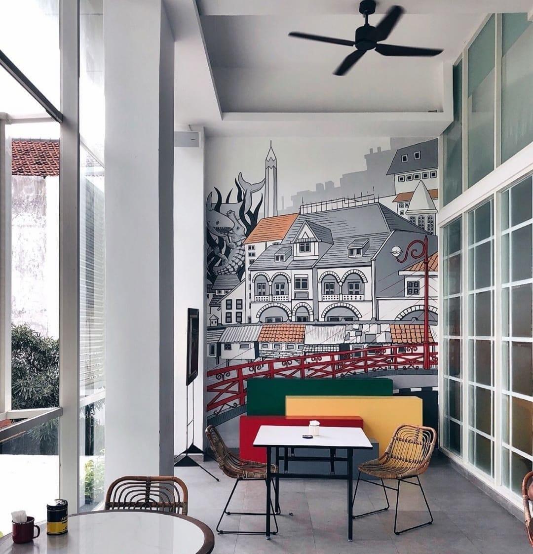 Spot Mural Kampi Hotel
