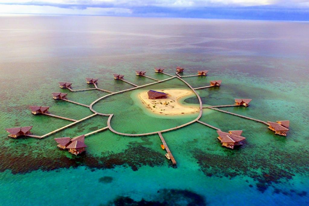 Pulo Cinta Eco Resort, Penginapan Di Gorontalo Serasa Maldives