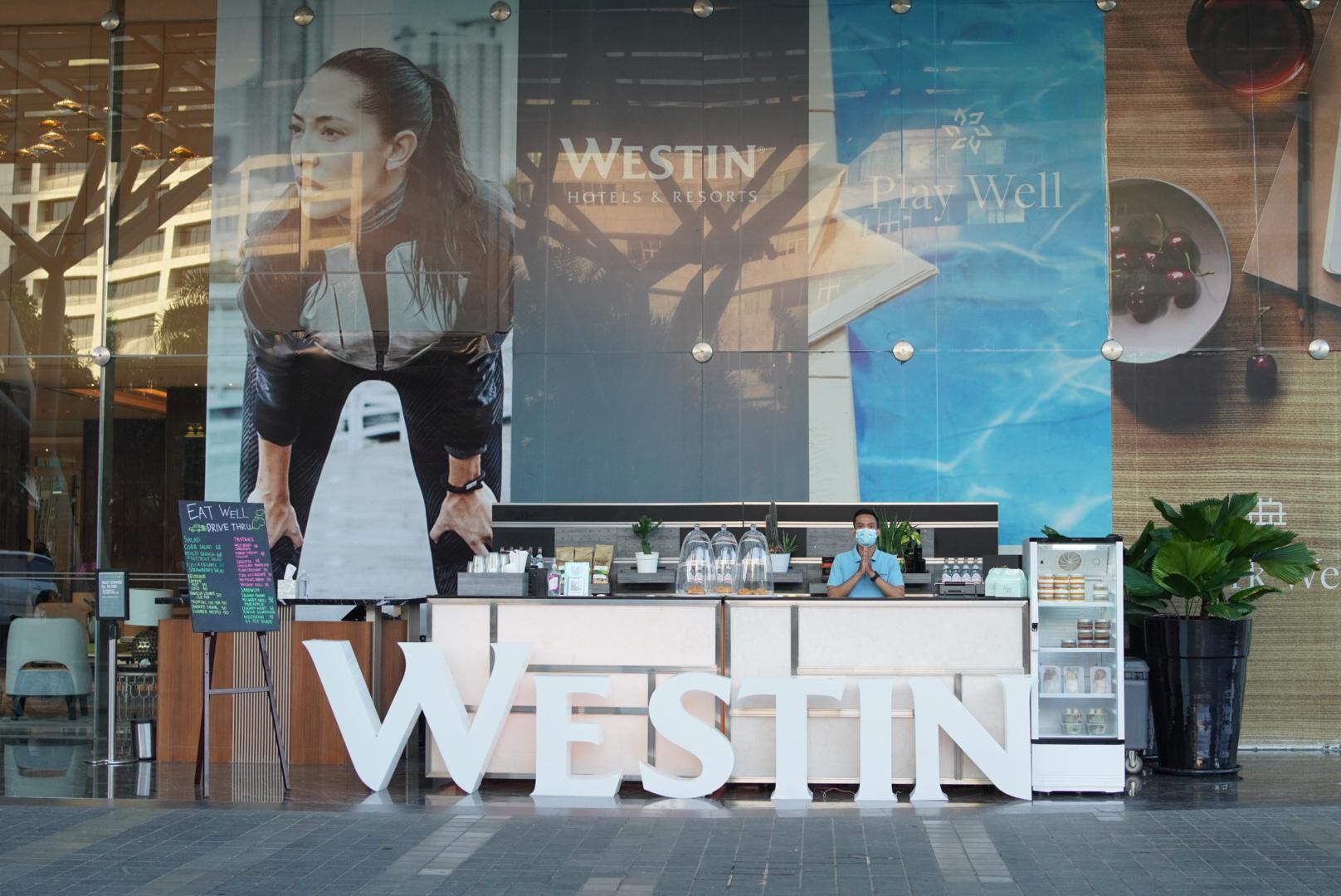 """The Westin Surabaya Hadirkan Layanan Drive Thru """"Eat Well to Go"""""""