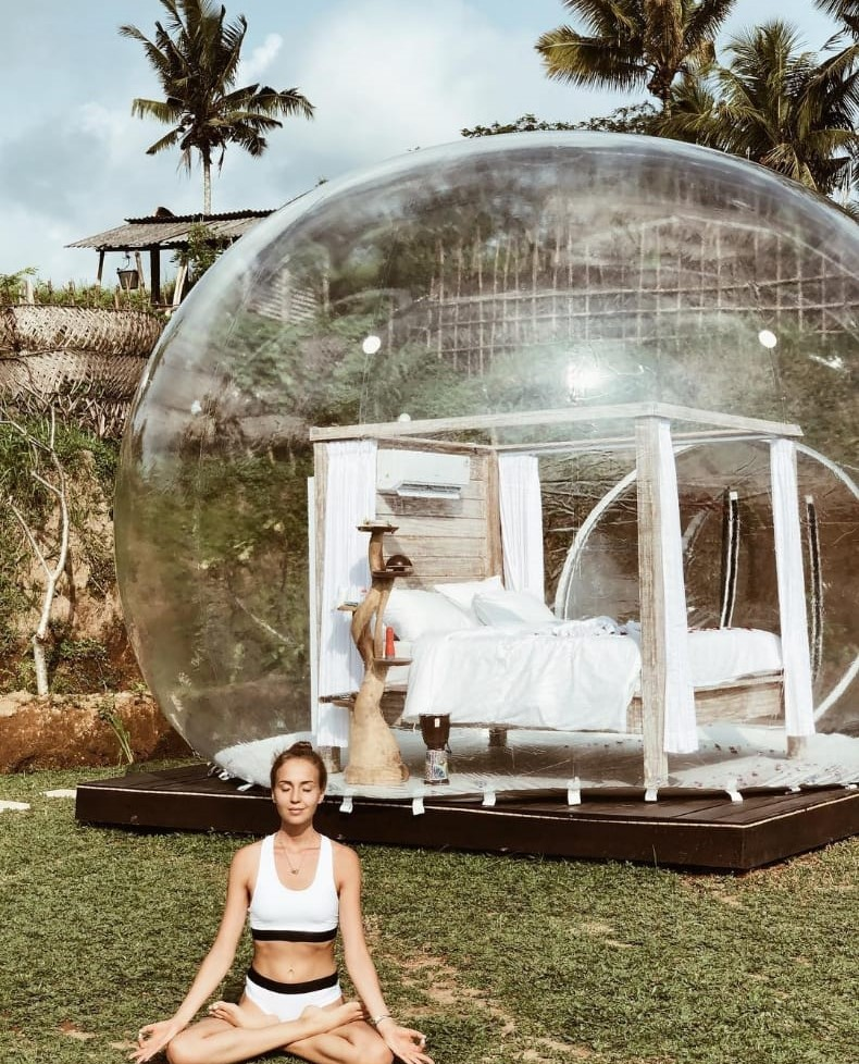 Staycation Sambil Refreshing Di Bubble Hotel Bali