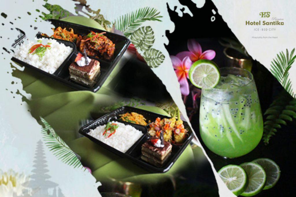 Menikmati Sensasi Bali di Hotel Santika Premiere ICE-BSD City