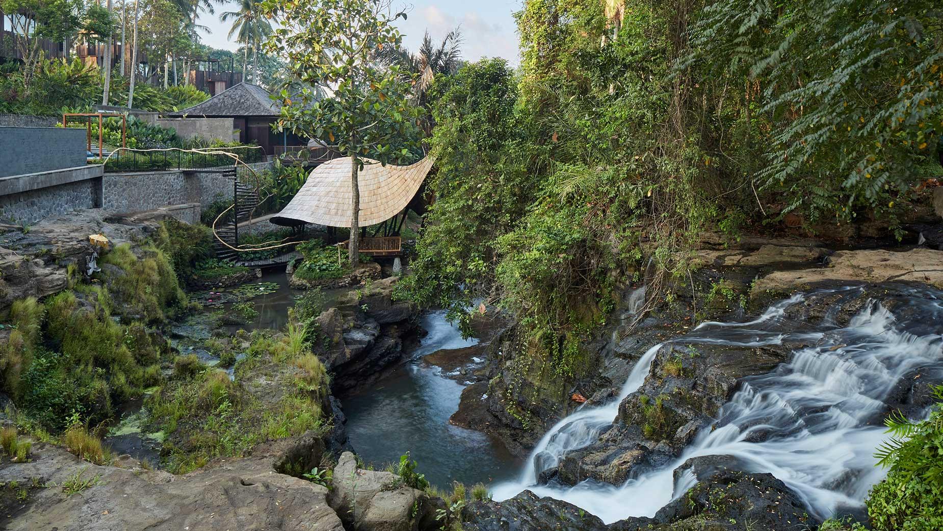 Keindahan Alam di Nirjhara Bali