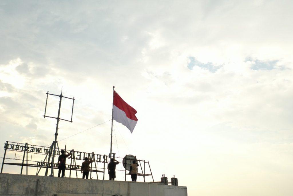 Bendera Sang Merah Putih Tertinggi Di Solo Raya