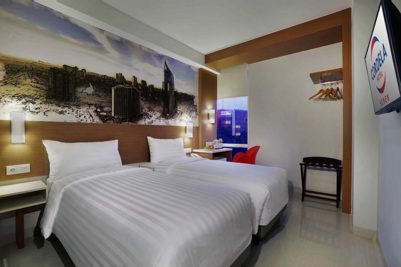 Deluxe Room Cordela Hotel Senen Jakarta