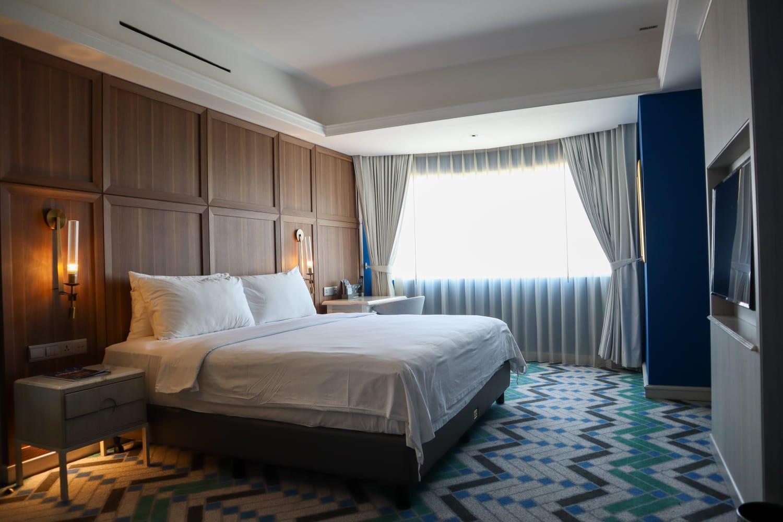 salah satu kamar yang ada di Java Paragon Surabaya