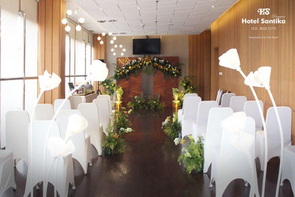 Promo Intimate Wedding Hotel Santika Premiere ICE-BSD City dengan Protokol Kesehatan